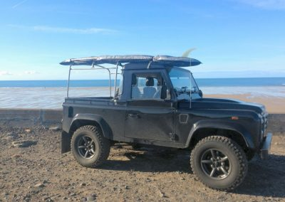 2008 Defender 90 - working in Jersey !