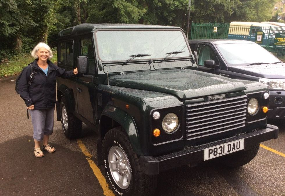 1997 Land Rover Defender 90 – Collected by Denise