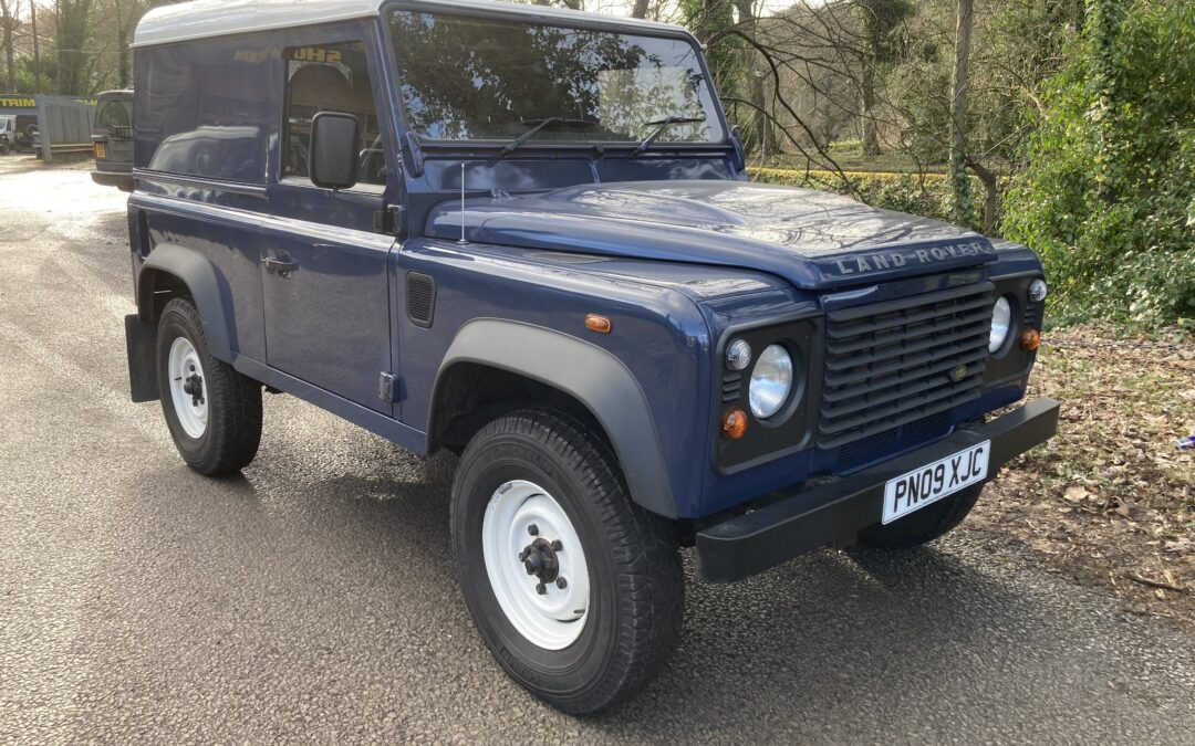 2009 Defender 90 – Purchased by Paul in New Jersey – USA