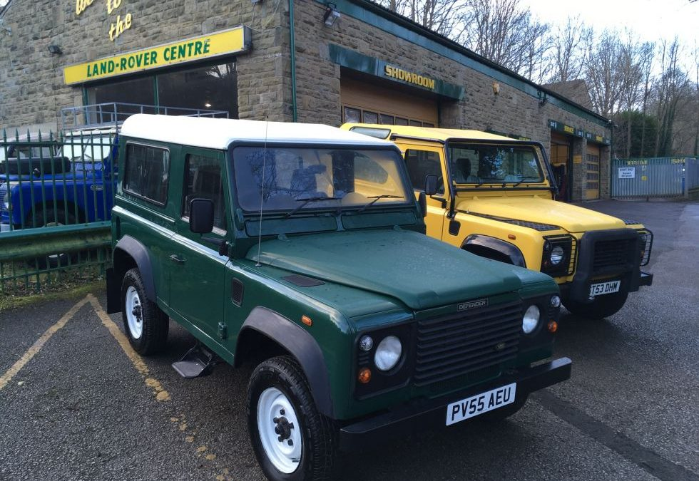 2005 Land Rover 90 - Collected by Margaret from Sheffield