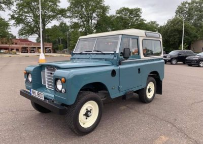 Land Rover Series - exported to USA