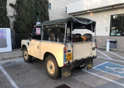 series 3 Land Rover - Texas