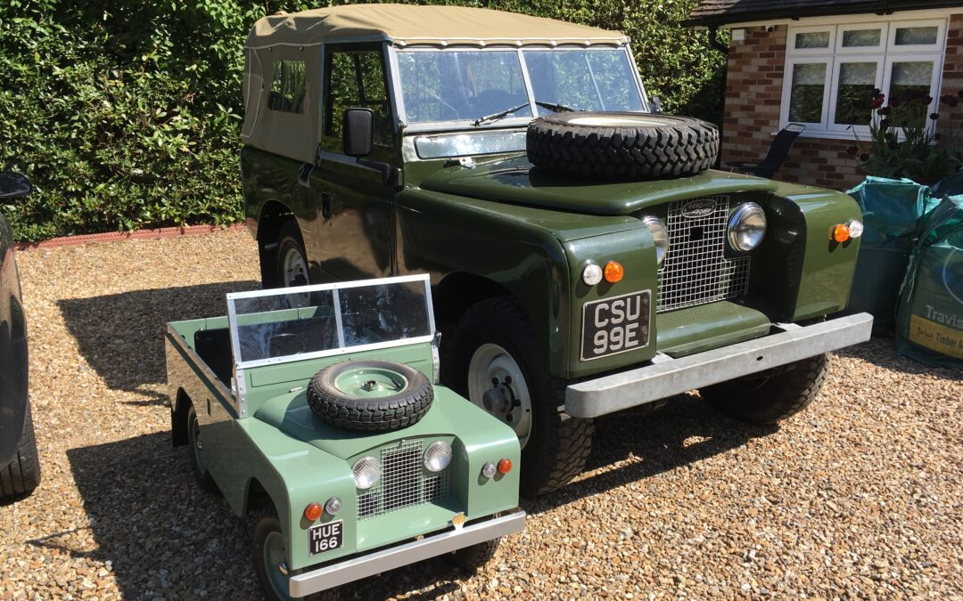 1971 Land Rover Series IIA – Purchased by Ron in Hampshire