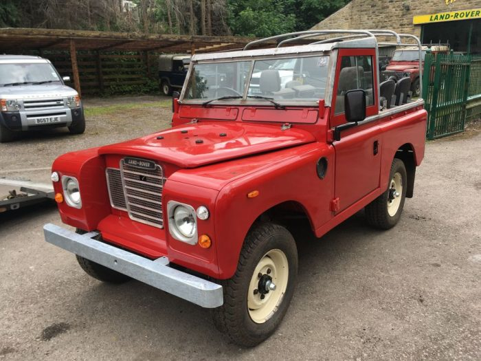 1983 Land Rover County Soft Top