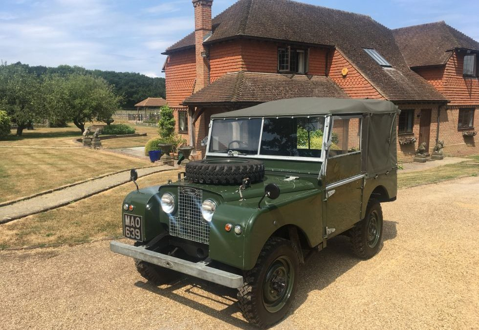 1953 Land Rover Series 1 – Delivered to Sandy and Elaine in West Sussex