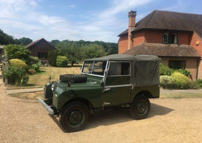 1953 Land Rover 80 inch series 1