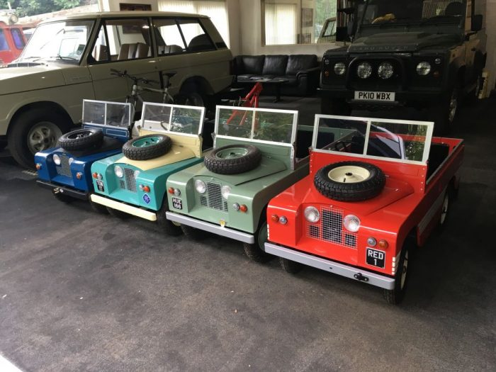 Childrens scale model Toylander Land Rover