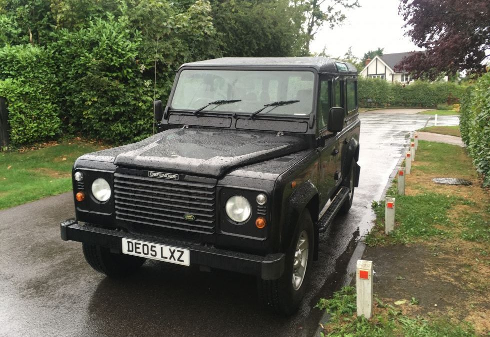 Land Rover Defender 110 – Delivered to Andrew in Surrey