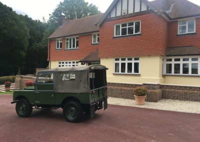"""1955 Land Rover Series 1 """"Milly"""""""