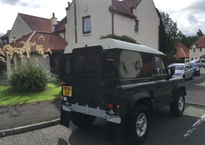 Defender 90 - Galvanised Chassis