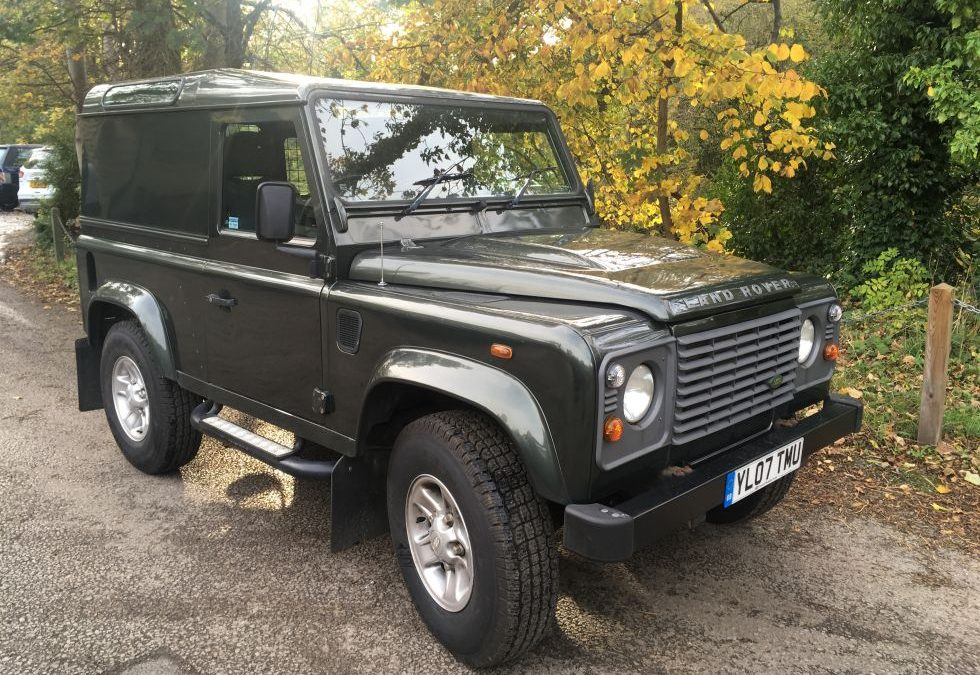 New Arrival – 2007 Defender 90 County Hard Top
