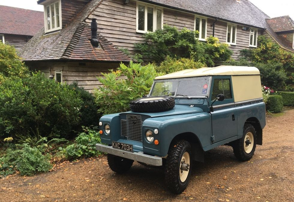 Land Rover Series 2A – Delivered to Jonathon in East Sussex