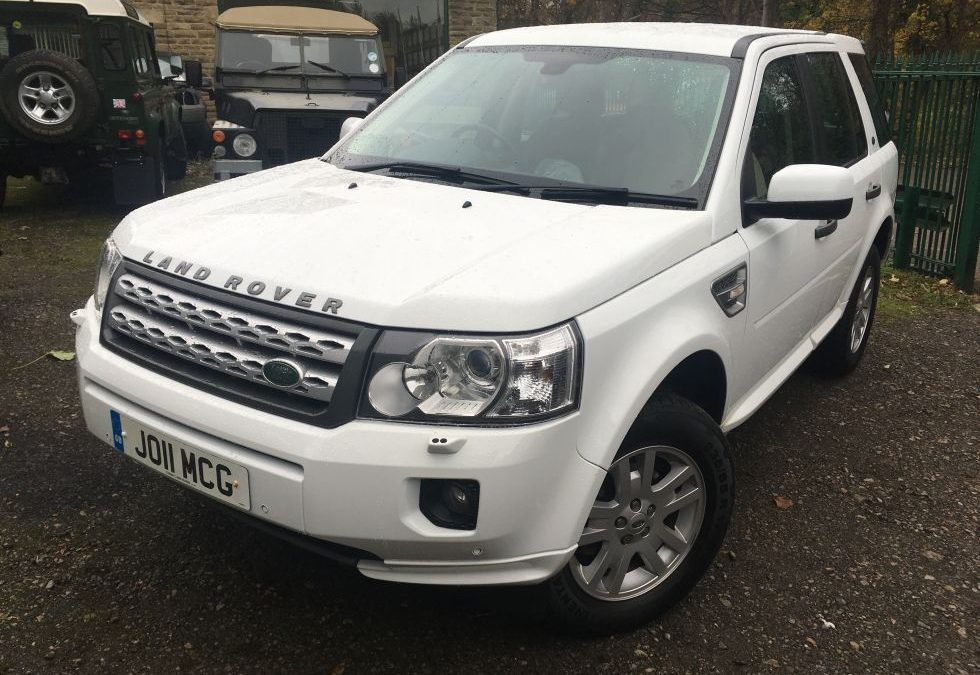New Arrival – 2011 Freelander 2 – 1 private owner 45,500 miles from new !