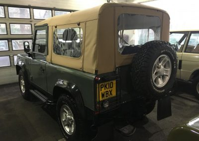 Defender soft top