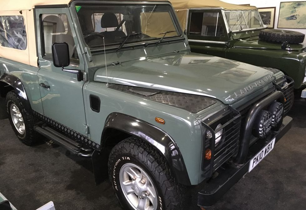 2010 Defender Soft Top – Collected by Ian from Essex