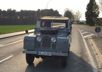 1960 LHD Series 2 Land Rover