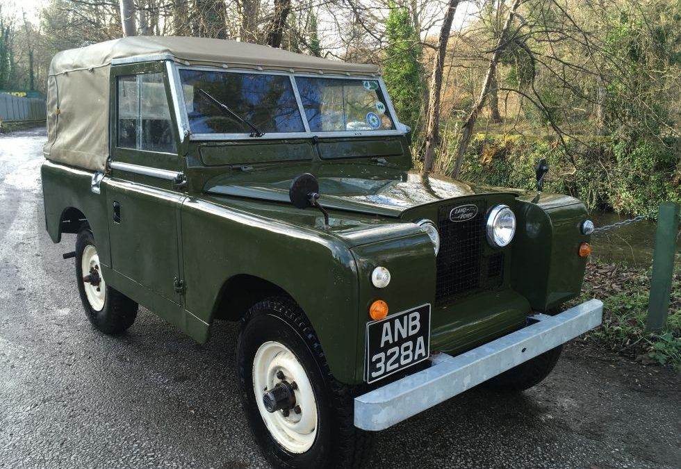 New Arrival – 1959 Land Rover Series 2