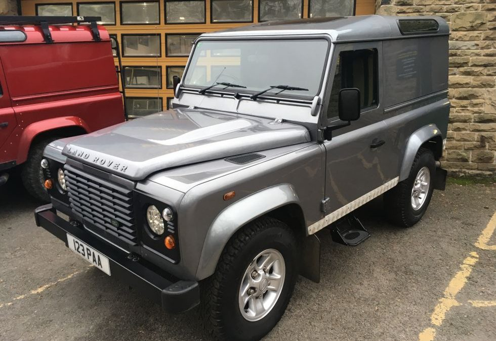 "New Arrival – 2011 Defender 90 – ""County"" Hard Top – 38,000 miles"
