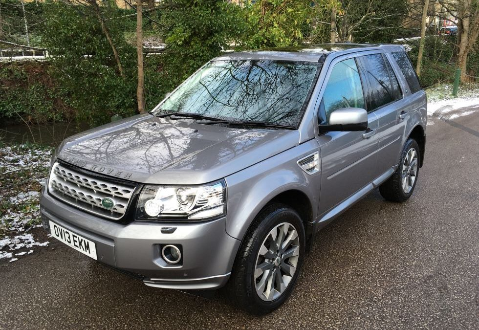 Land Rover Freelander – Collected by Nicola