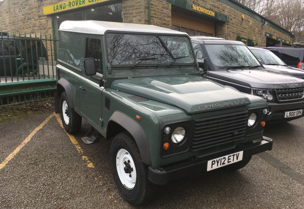 New Arrival – 2012 Defender 90 Hard Top – 28,000 miles – FSH