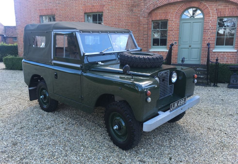 1962 X MOD Land Rover – Delivered to Gary in Norfolk