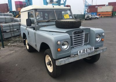 Land Rover - USA export