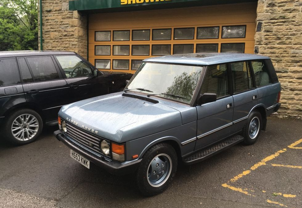 Ready for collection today – 1991 Classic Range Rover