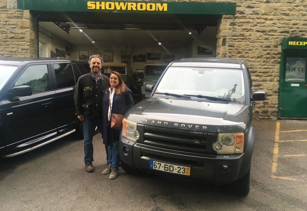 A visit today from José and Sofia from Dream Overland