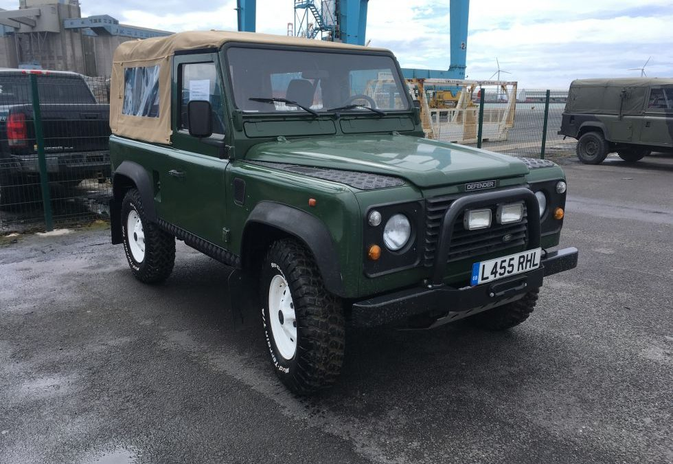 Another Defender off to America