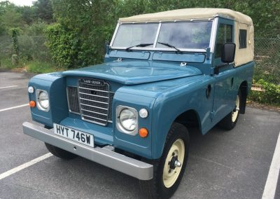 Land Rover series 3 soft top diesel