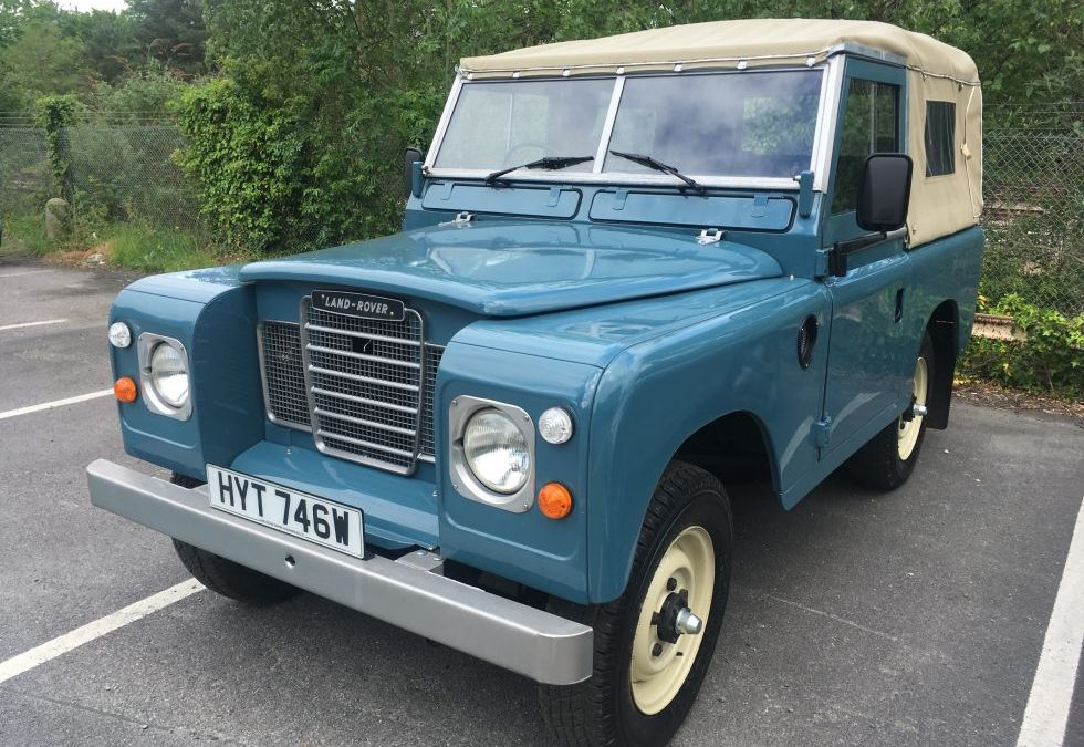 1981 Series 3 – Delivered to Andrew in Hampshire