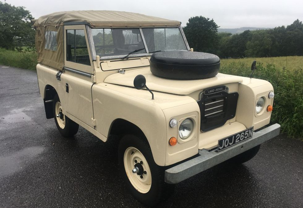 Final test drive – 1975 Series 3 – off to Belgium