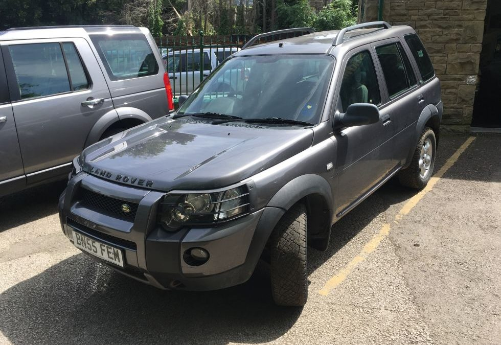 Freelander – Purchased by Mark