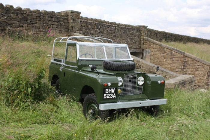 1963 Land Rover Series IIA