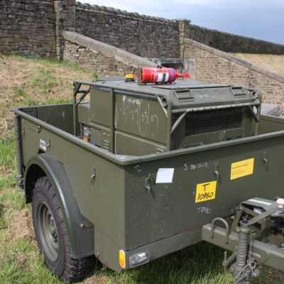 penman Trailer and generator