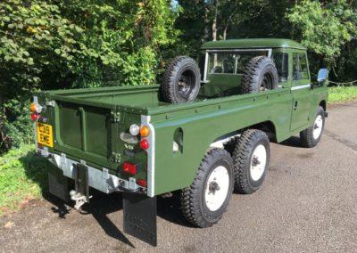C319 EME - Land Rover stage 1 V8 - 6 x 6