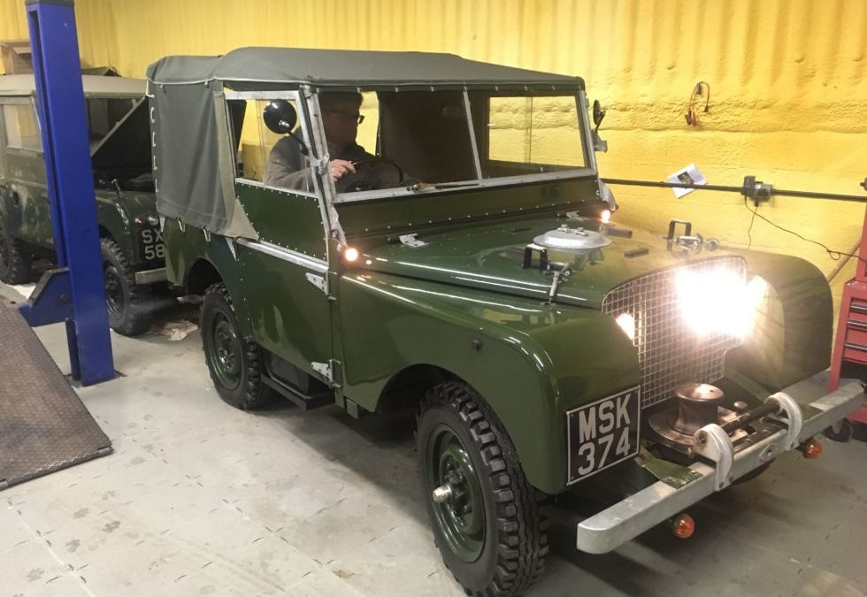 New arrival – 1949 Land Rover Series 1