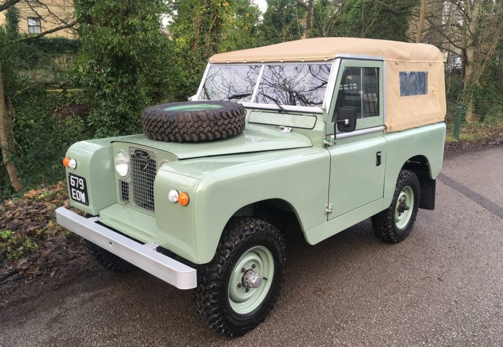 1963 Land Rover Series 2A – Setting off for New Zealand !
