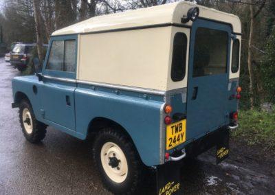 Land Rover Series 3 Hard Top