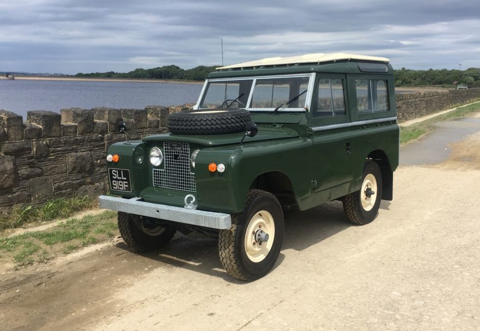 New Arrival – 1967 Land Rover Series IIA