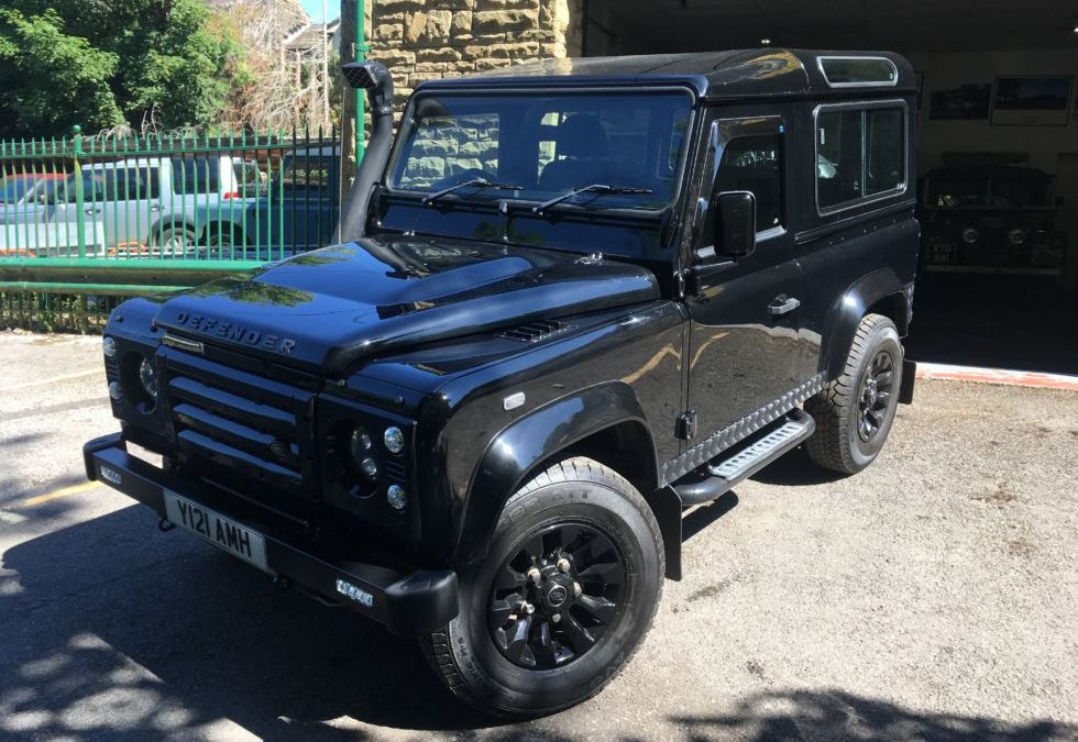 Stunning 2007 Land Rover Defender 90 – Collected by Angela