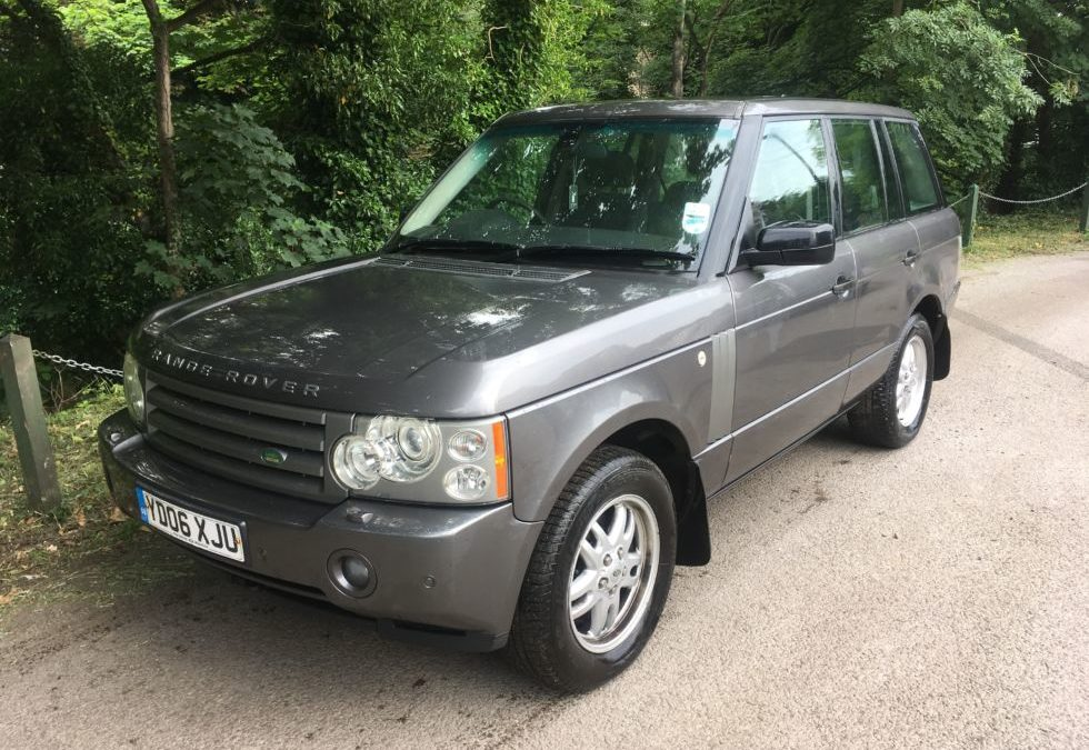 2006 Range Rover Vogue – Purchased by Steve from Huddersfield
