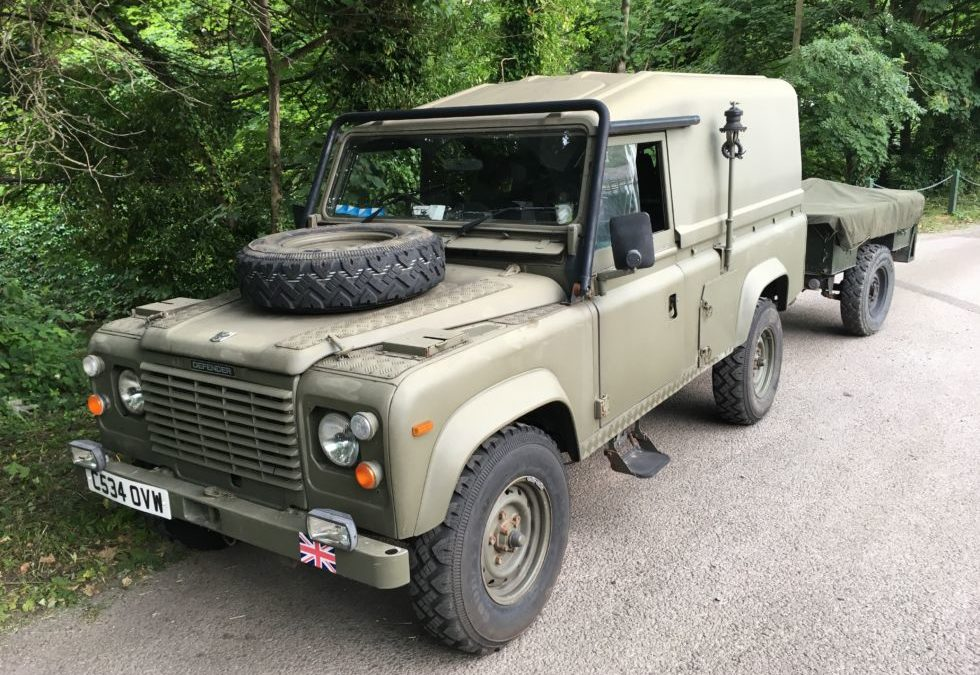 New Arrival – Land Rover 110 Tithonus and Sankey Trailer