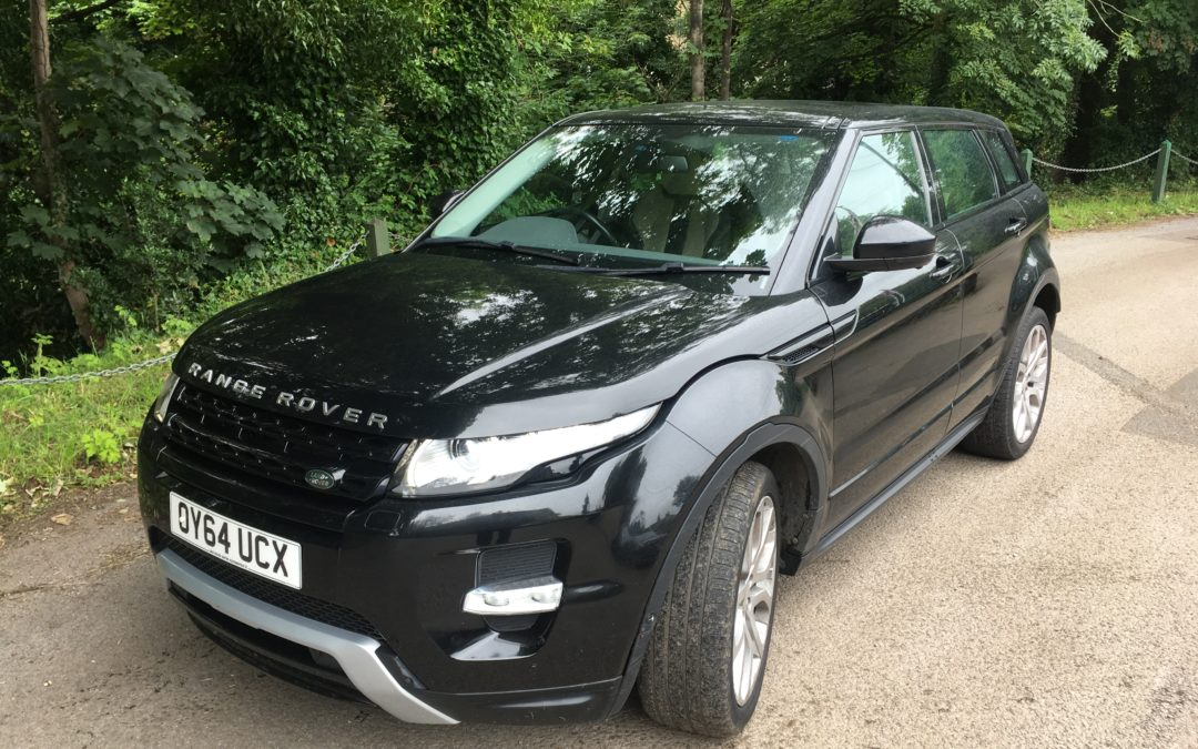 Range Rover Evoque – Purchased by Andrew and Jan