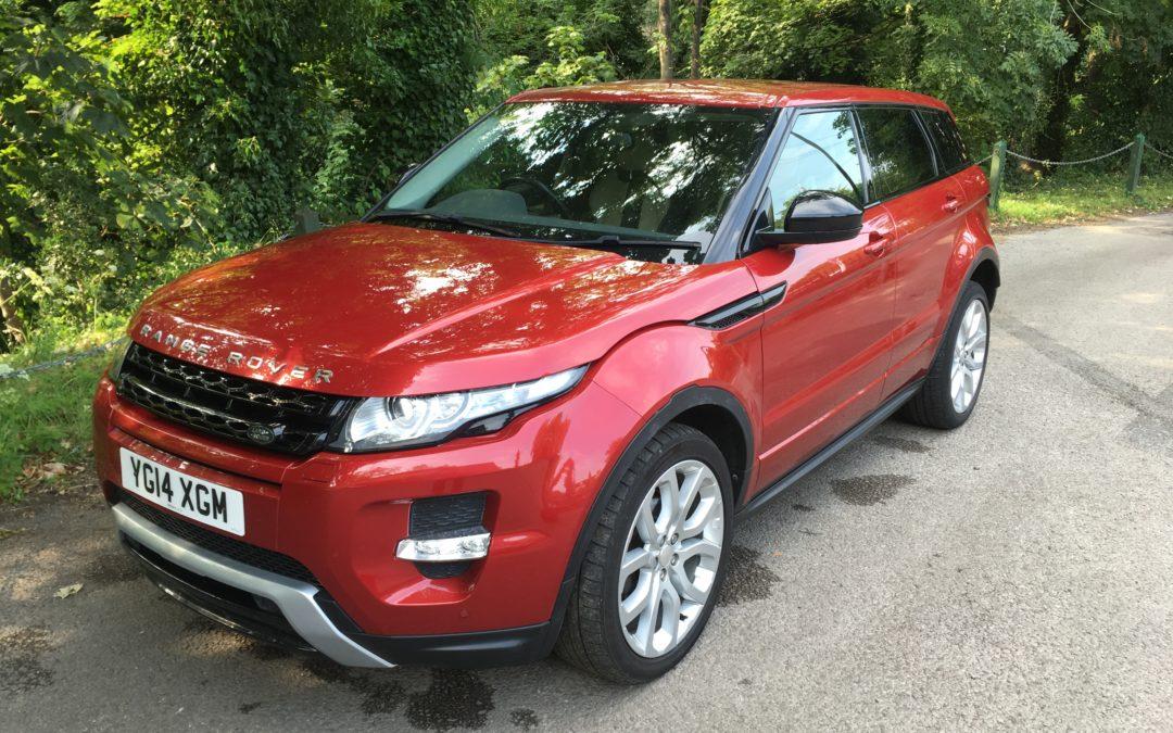 New Arrival – 2014 Range Rover Evoque – Stunning Condition