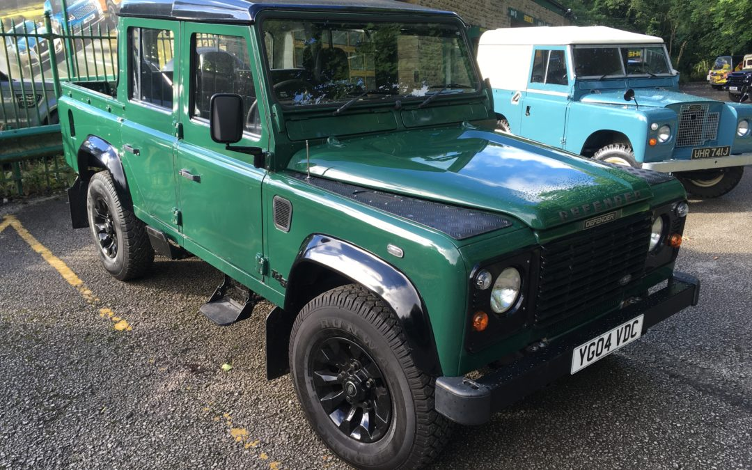 110 Defender Double Cab – Collected by Richard
