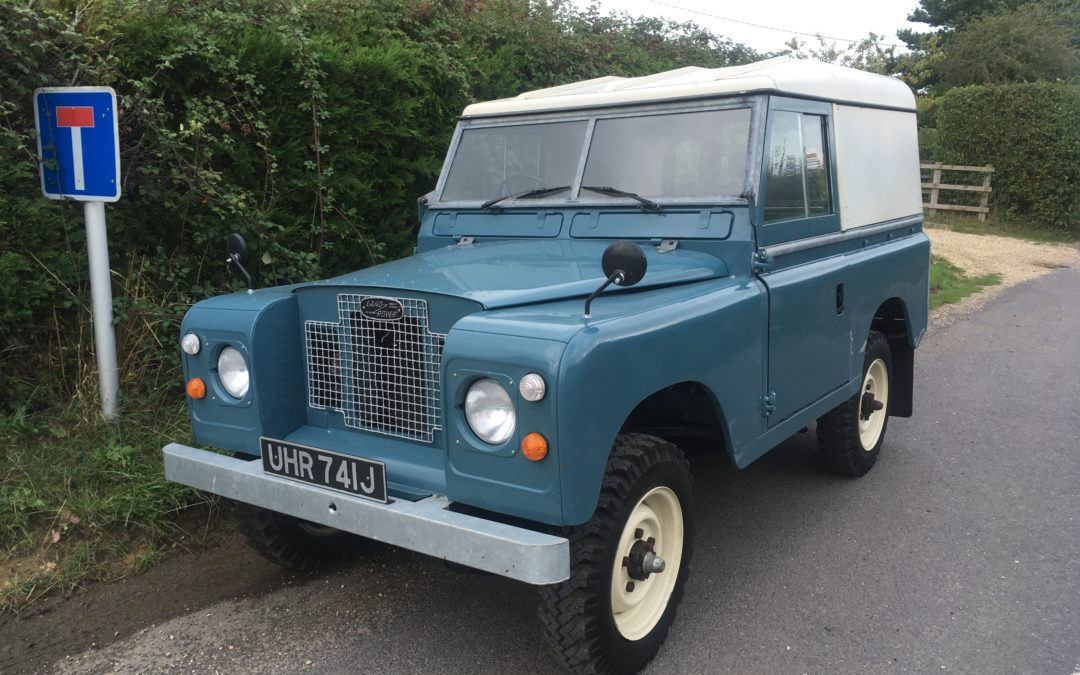 Restored Land Rover Series IIA – Delivered back to Paul in Dorset