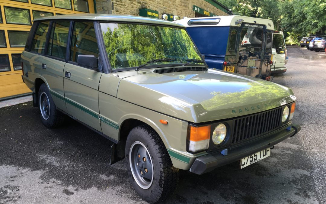A Trip to Somerset to repatriate low mileage 4 door Range Rover Classic