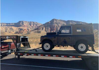 Arriving in Utah