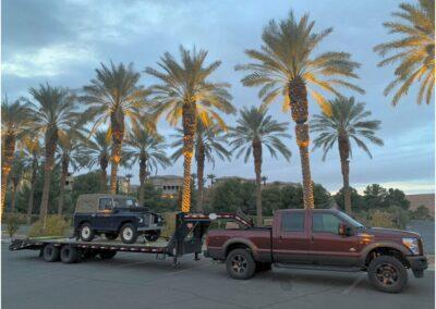 Pit stop in Las Vegas